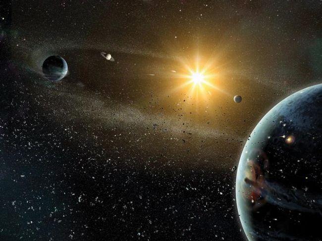 noi planete ale sistemului solar