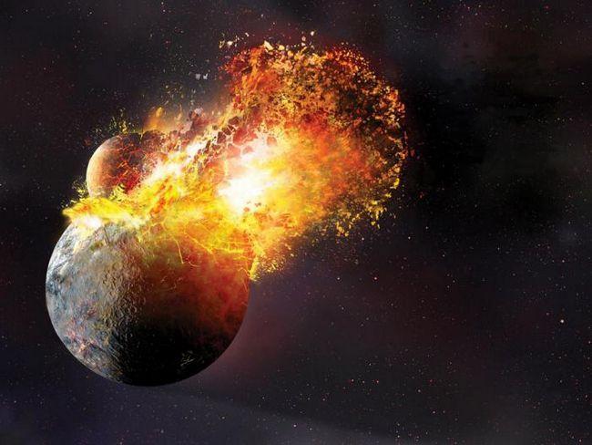 planeta pământ a sistemului solar