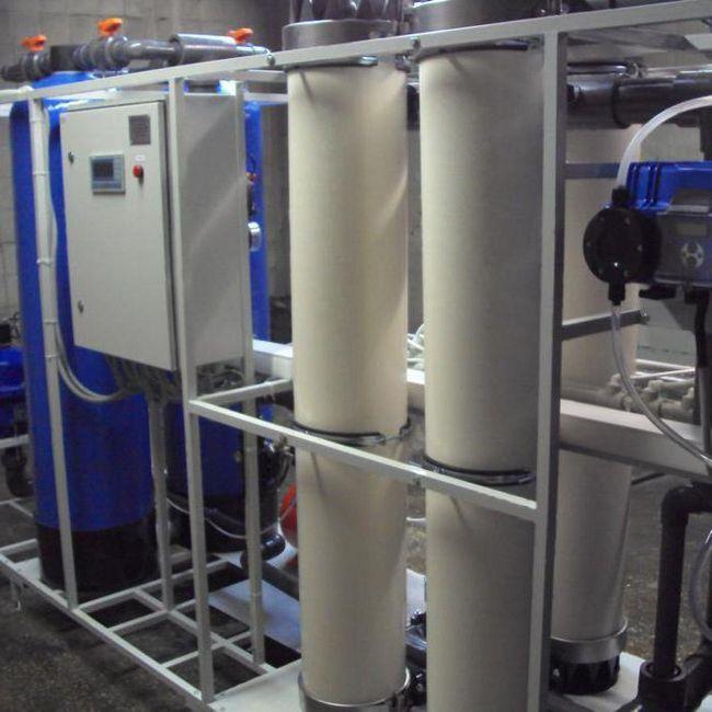 tratarea apei reziduale prin ultrafiltrare