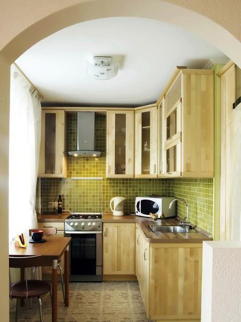 proiectarea unei bucătării mici