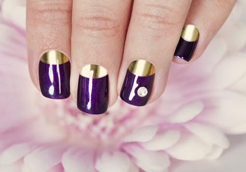 violet lac de unghii