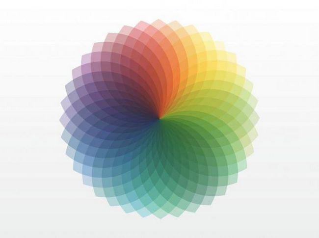 vizibil la spectrul culorii umane