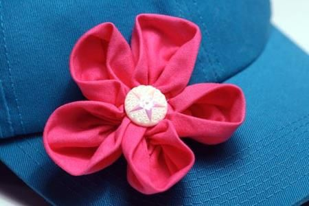 Flori din tesatura. Modele de flori