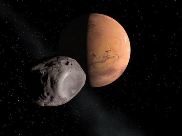 fobos și sateliții deimos