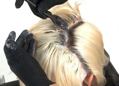 cum se face colorarea părului