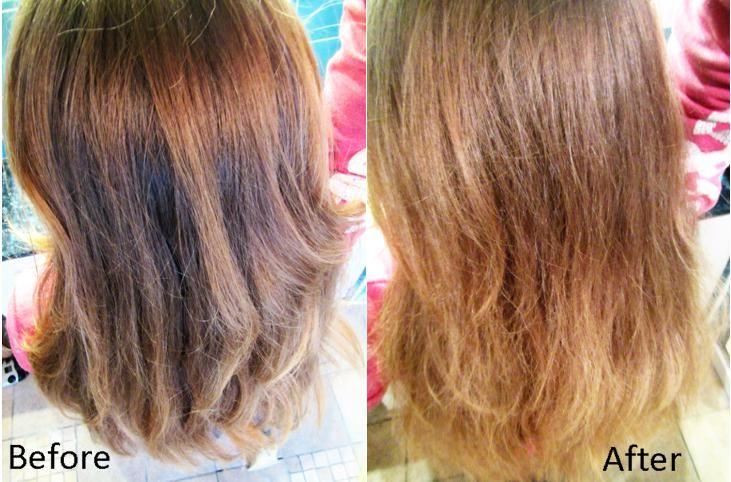 decaparea părului cu pulbere