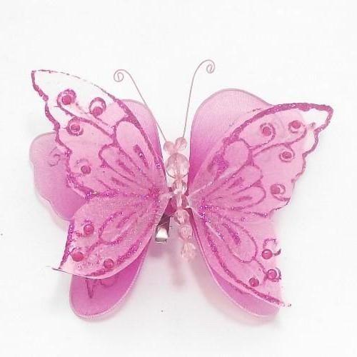 organza fluture cu mâinile tale