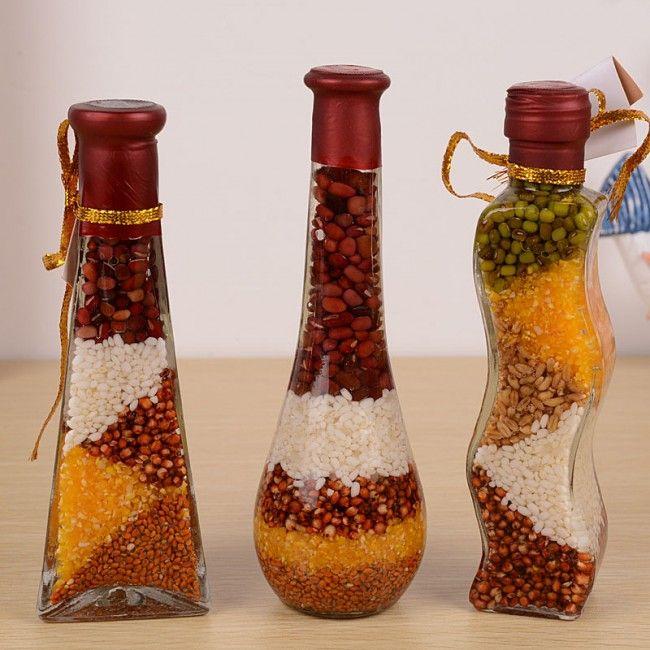 Sticle decorative pentru bucătărie cu mâinile lor: fotografie