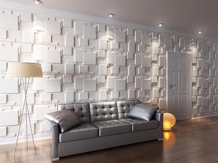 panouri decorative din gips pentru decorarea interioară a pereților