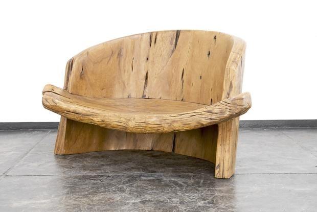 mobilier din lemn natural
