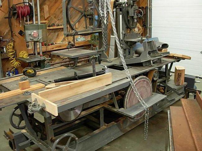 producerea de echipamente de prelucrare a lemnului