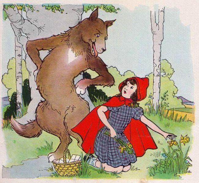краткое содержание сказки красная шапочка