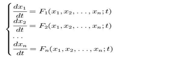 Sisteme de ecuații diferențiale