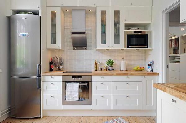 кухня 8 кв м дизайн фото