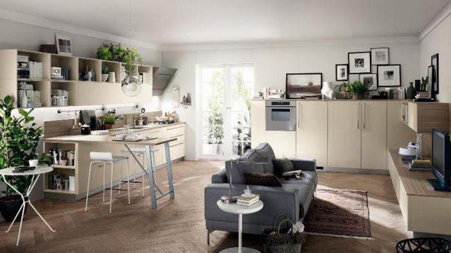 bucătărie design 20 mp