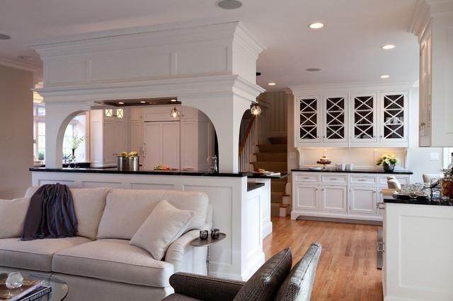 Bucătărie-design de cameră.