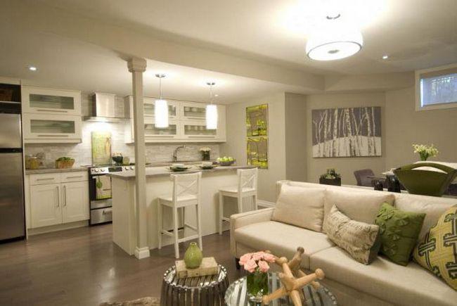 дизайн прямоугольной кухни 8 кв м