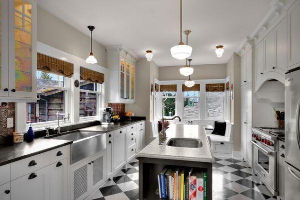 кухня прямоугольная 12 кв м дизайн