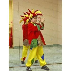 Pentru distracție și pentru distracție, ridicăm dispoziția: coșem costumul lui Petrushka!
