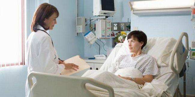 tratamentul pacienților cu tumori ovariene benigne