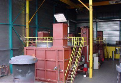 cuptoare pentru producerea cărbunelui