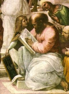 Filozoful și matematicianul grec vechi
