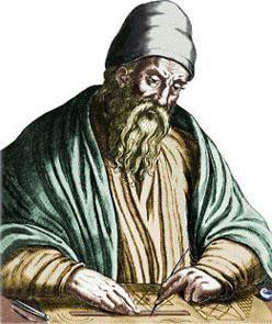 Matematician grec vechi, care a făcut