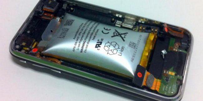 de unde bateria telefonului este aruncată în aer