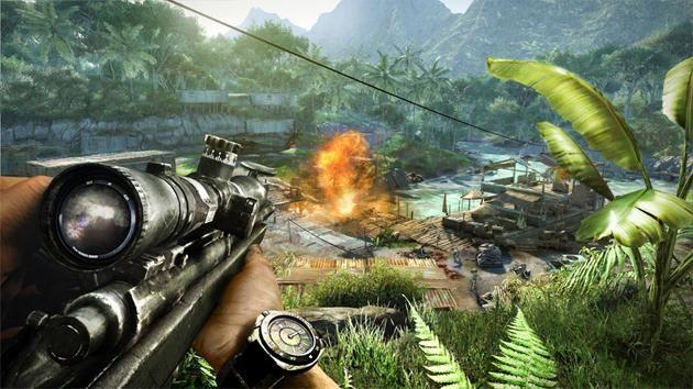 Far Cry - trecerea și instrucțiunea despre supraviețuire
