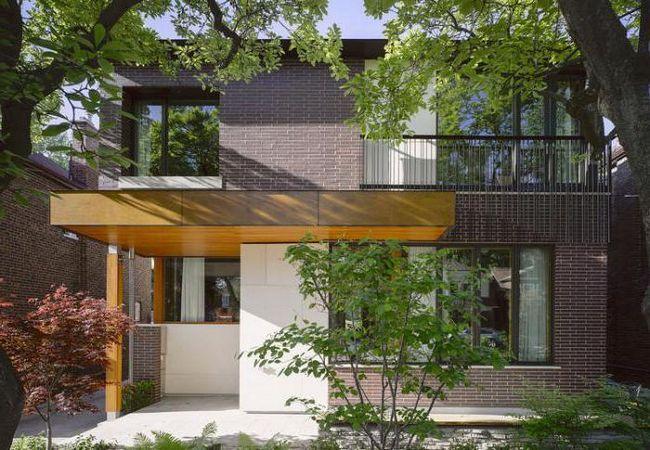 finisarea cu panouri de fațadă pentru cărămidă