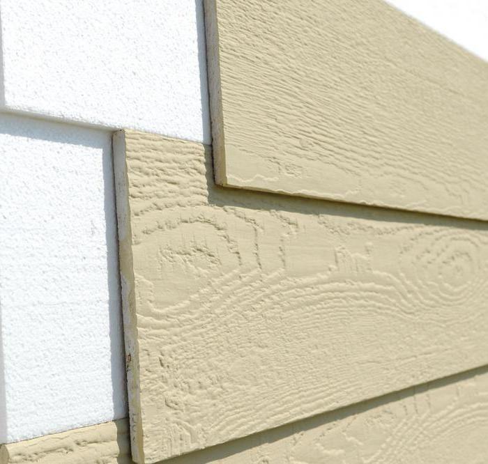 Panouri din fibră de ciment din fațadă