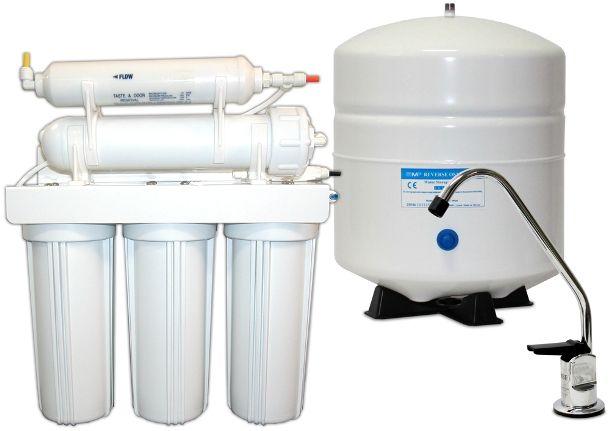purificarea apei în trei etape
