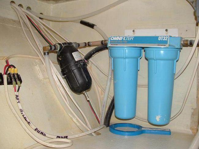 purificarea apei în apartament