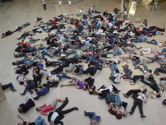 Flash mob, care este efectul