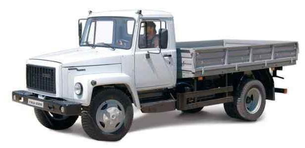 GAZ-3309. caracteristicile