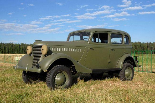 GAZ-61: specificații, fotografie