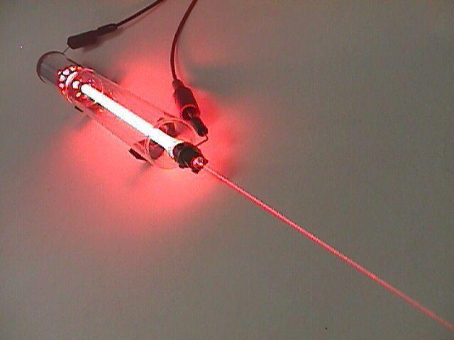heliu neon gaz laser