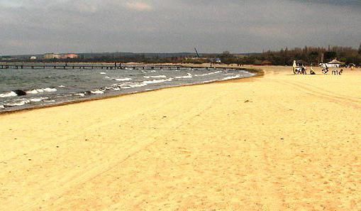 plaja de nisip pe Marea Neagra