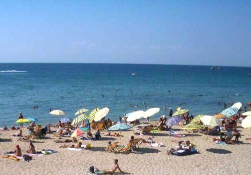 plaje de nisip din Marea Neagră rusia