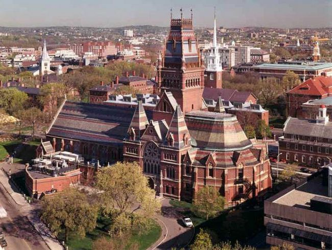 cum să mergeți la Universitatea Harvard