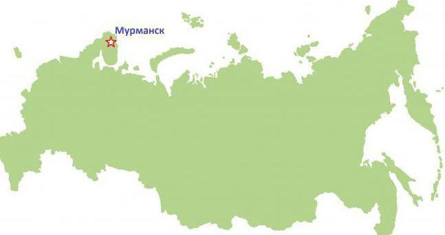 latitudinea lui Murmansk