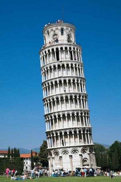 Unde este Turnul înclinat din Pisa - răspunsul în titlul său, dar mulți nu-l cunosc
