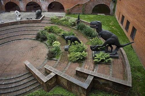muzeul dinozaurilor din Moscova