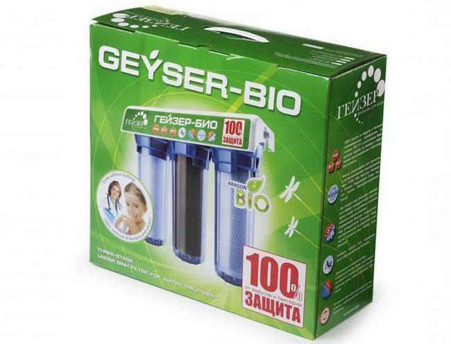geyser cartușe de filtru