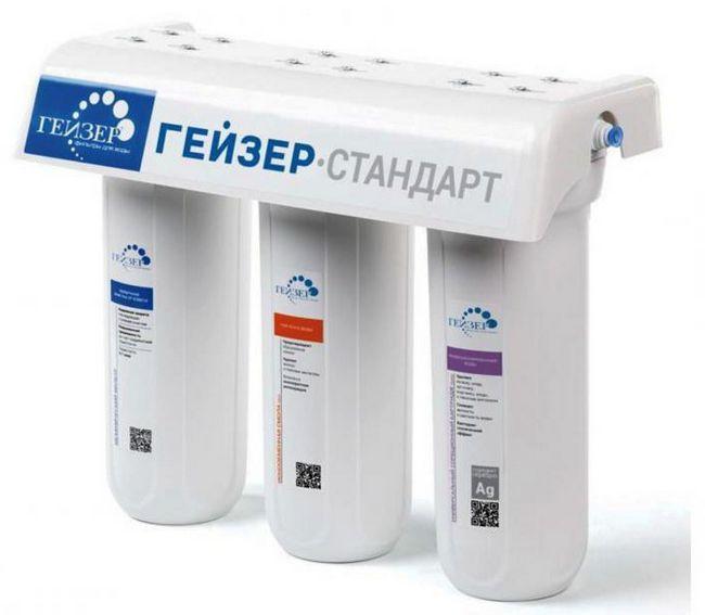 filtrați cartușele de curățare pentru gheizer