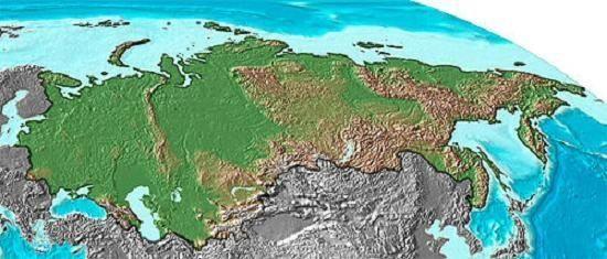 Poziția geografică a Rusiei din punct de vedere al politicii și al economiei