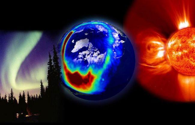 furtună geomagnetică