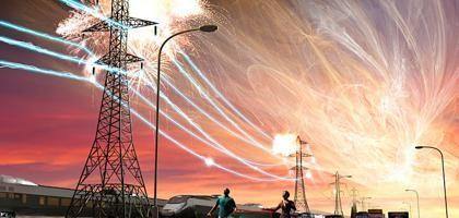 furtună magnetică geomagnetică