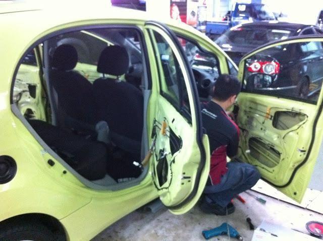 izolare fonică auto