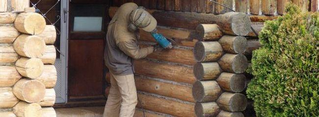 Material de etanșare pentru lemn
